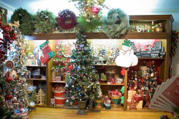 Display Inside The Yule Shop