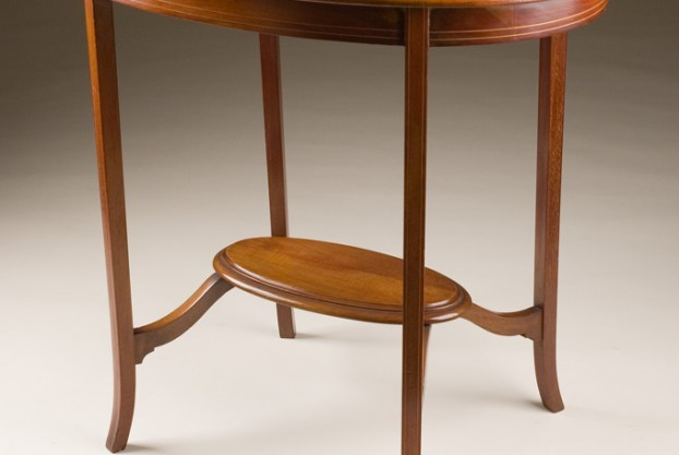 Antique Oval Occasional Table