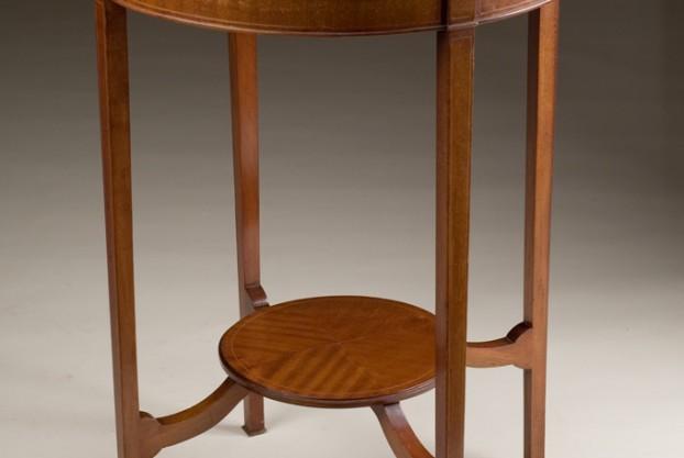 Old English Circular Side Table