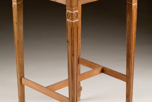 Antique Pine Occasional Table