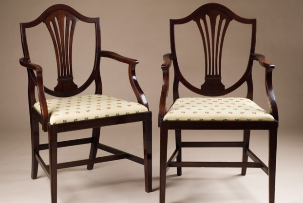 Pair of Georgian Armchairs