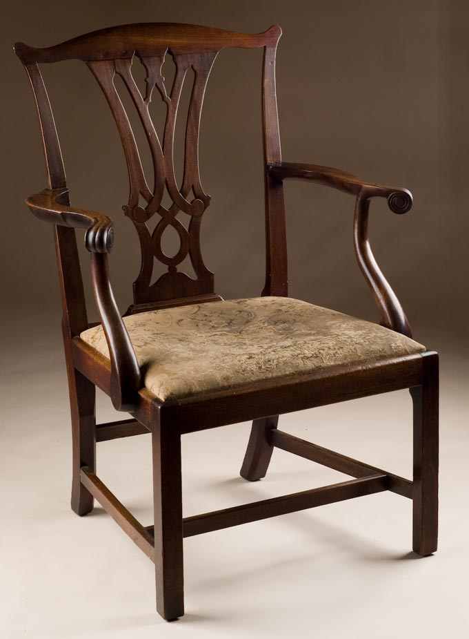 Chippendale Chairs Antique Antique Mahogany Chippendale
