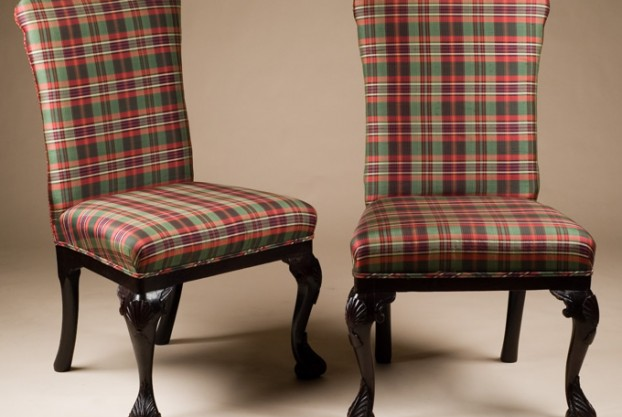 Old English Upholstered Chairs