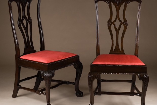 Pair of Old English Side Chairs