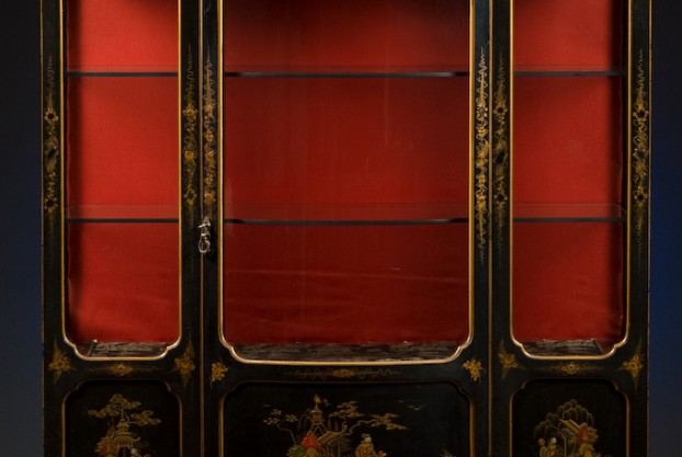 Lacquered Collectors Cabinet