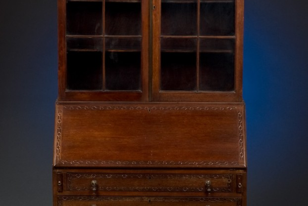 Chippendale Style Secretary Bookcase