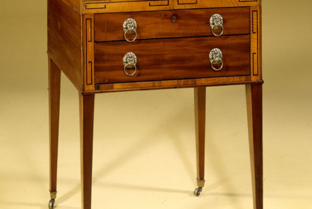 Antique Beau Brummell Dressing Table