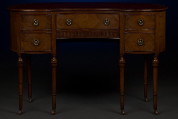 19th Century Kidney Shaped Desk