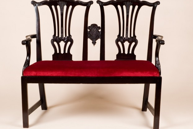 Antique Chair Back Settee