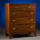 18th Century Straight Front Chest of Drawers