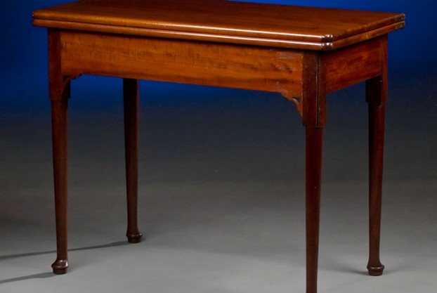 18th Century Folding Game Table