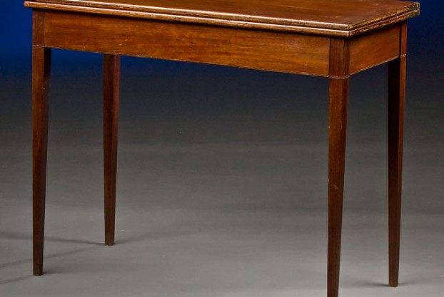19th Century English Card Table