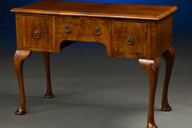 English Side Serving Table