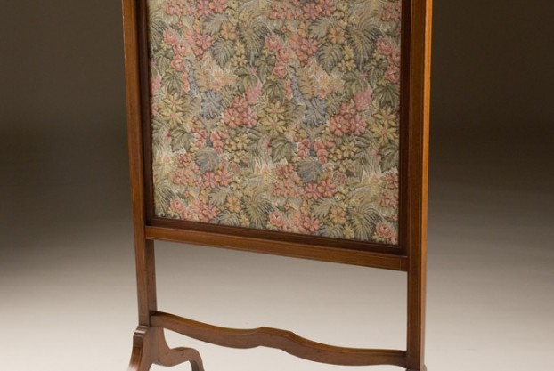 English Antique Fire Screen