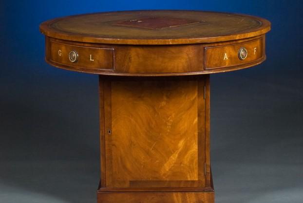 English Mahogany Rent Table