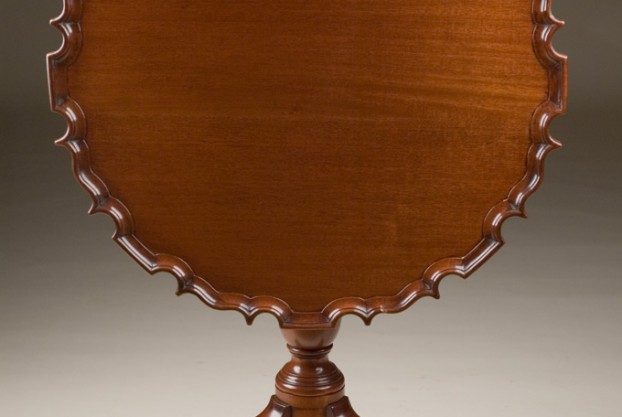 Tilt Top Piecrust Table