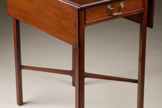 One Drawer Pembroke Table