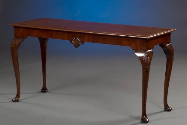 Custom Mahogany Console Table