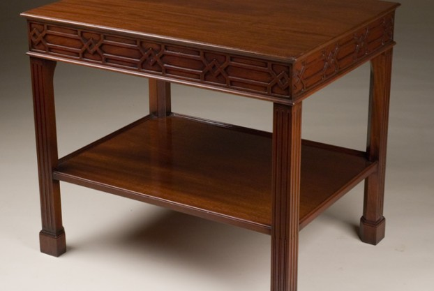 Mahogany Reproduction End Table