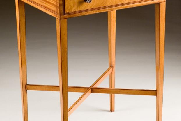 Custom Made Satinwood Table