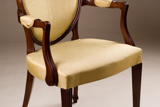 Carved Reproduction Armchair