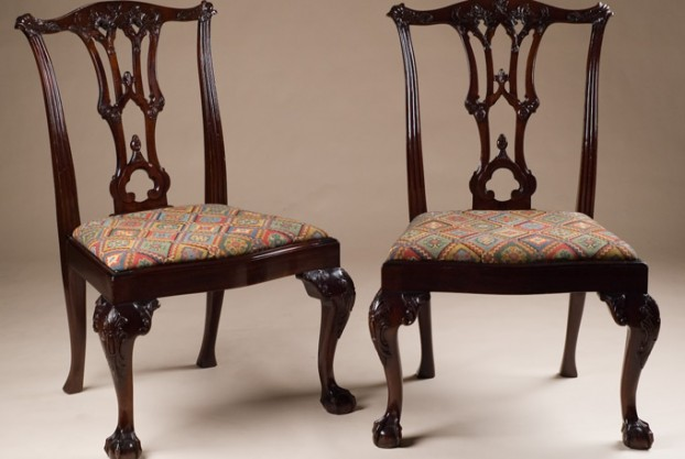 Reproduction Chippendale Style Chairs