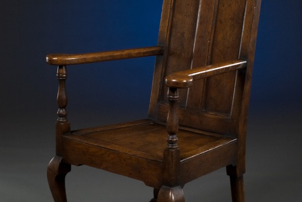 English Oak Reading Chair