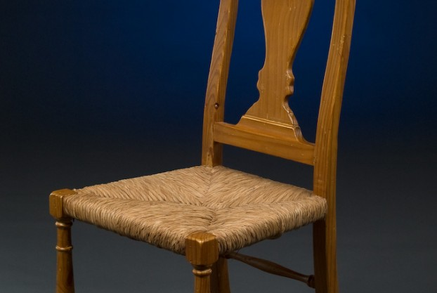 Queen Anne Style Pine Chair