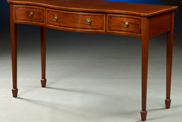 Sheraton Style Serving Table