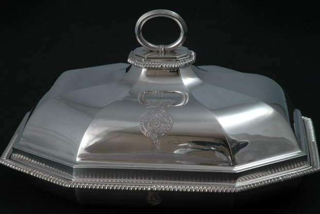 Paul Storr Silver Entree Dish