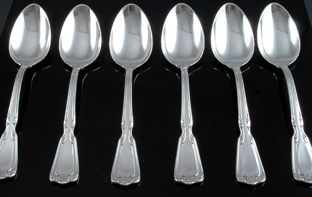 Set of Old Reed & Barton Sterling Silver Teaspoons