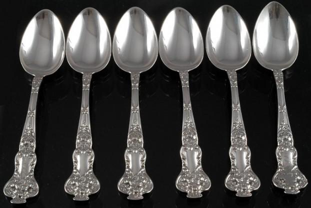 Watson Silver Co. Sterling Teaspoons