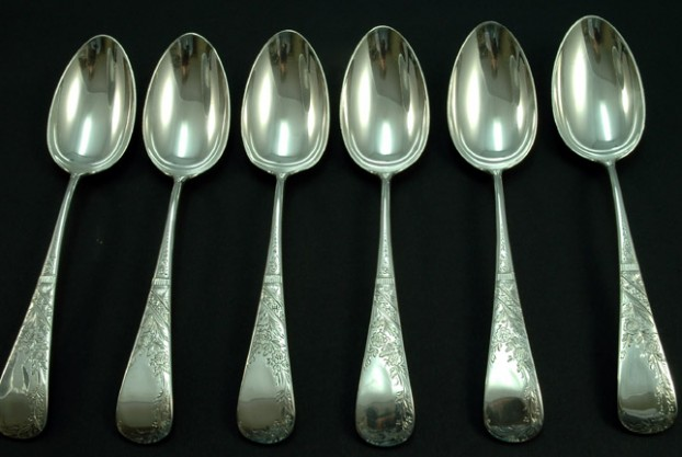 Theodore B. Starr Sterling Silver Tablespoons
