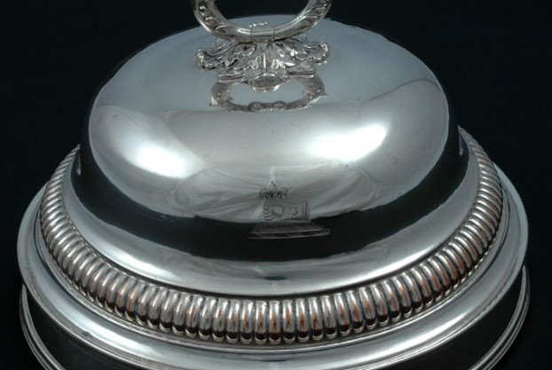 Sheffield Silver Dish Cover By Matthew Boulton