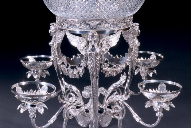 William Pitts Georgian Silver Epergne