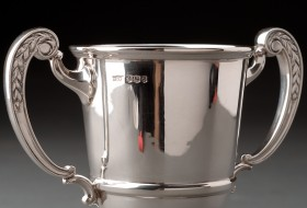 Sterling Silver Loving Cup