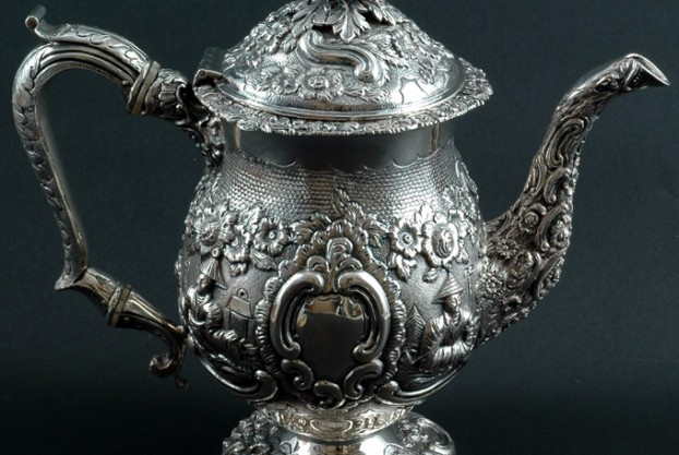 English George III Silver Coffee Pot