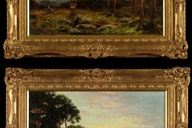 Pair of Oil Landscape Paintings