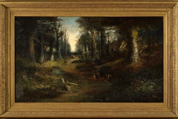 Woodland Scene By ADK Griffiths