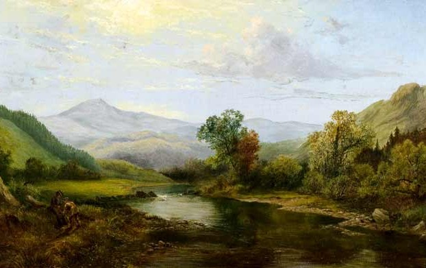 Landscape Painting by Robert Gallon