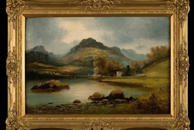 River Landscape By Pettitt
