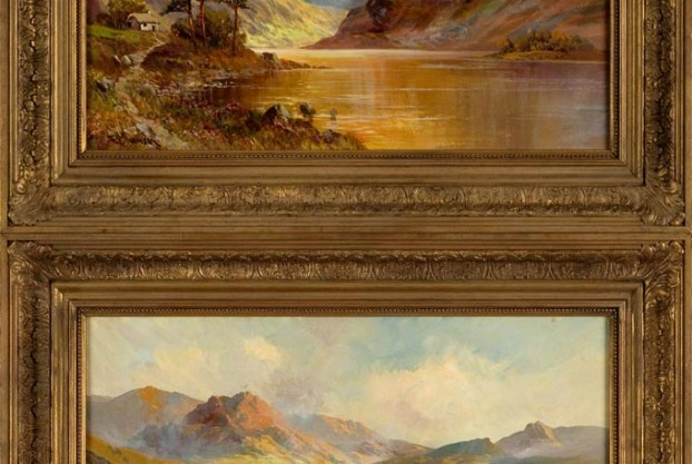 Pair of Paintings By FE Jamieson