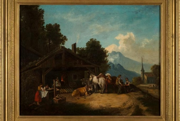 European Alpine Painting