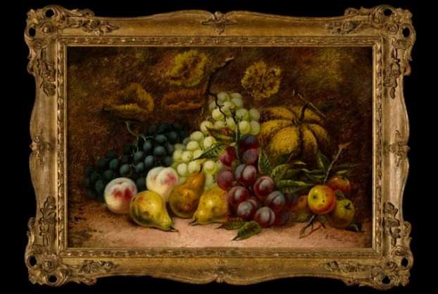 Harvested Fruit By George Clare