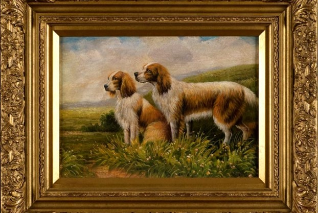 Spaniels in a Landscape