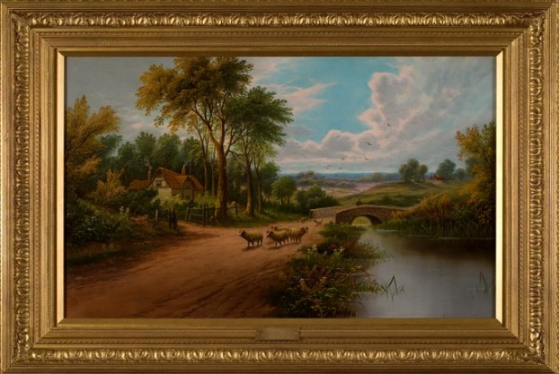 Sheep By A River – Etty Horton