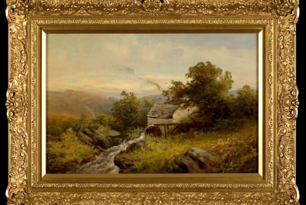 Sidney Watt Watermill Landscape
