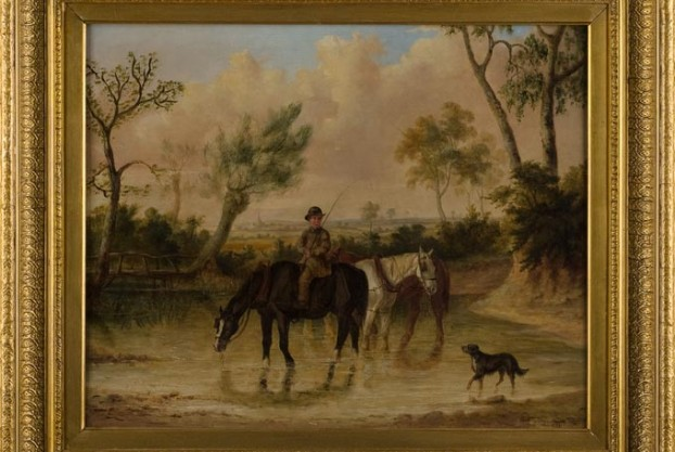 George Henry Laporte Oil Painting on Canvas
