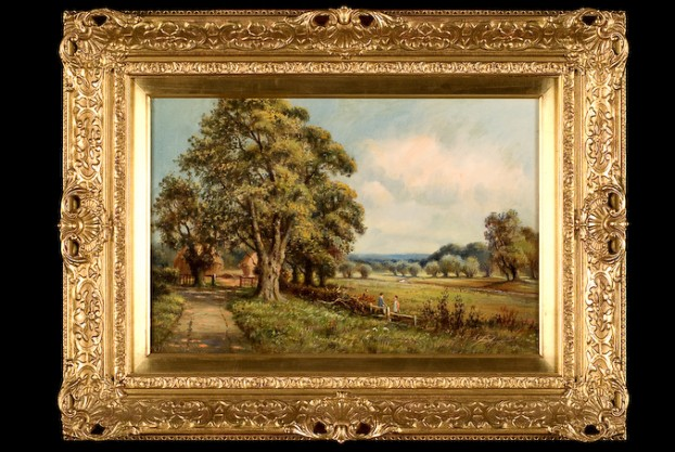 S.Y. Johnson Country Landscape