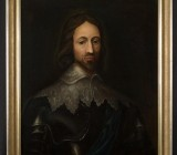 Earl of Stafford Oil Painting